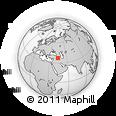 Outline Map of Hakkari