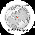 Outline Map of Kars