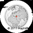 Outline Map of Kastamonu