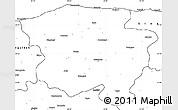 Blank Simple Map of Kastamonu