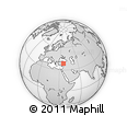 Outline Map of Kayseri