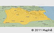 Savanna Style Panoramic Map of Kirklareli