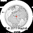 Outline Map of Kirsehir
