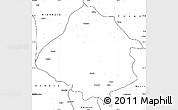 Blank Simple Map of Kirsehir