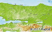 Physical 3D Map of Kocaeli
