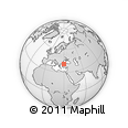 Outline Map of Kocaeli