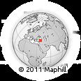 Outline Map of Malatya