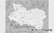 Gray 3D Map of Manisa