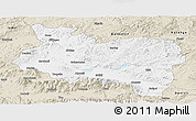 Classic Style Panoramic Map of Manisa