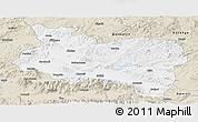Classic Style Panoramic Map of Manisa