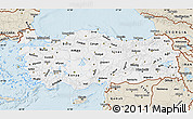 Classic Style Map of Turkey