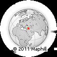 Outline Map of Mardin