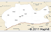 Classic Style Simple Map of Mardin