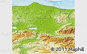 Physical 3D Map of Sakarya