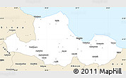 Classic Style Simple Map of Samsun
