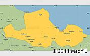 Savanna Style Simple Map of Samsun