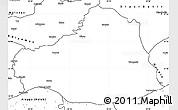 Blank Simple Map of Sanliurfa