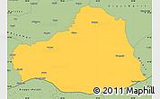Savanna Style Simple Map of Sanliurfa
