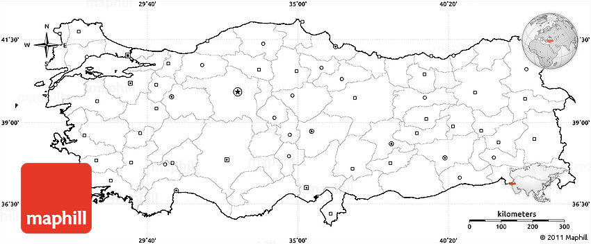 Image Result For Turkey Country Map