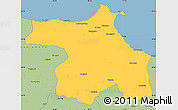 Savanna Style Simple Map of Sinop