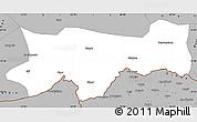 Gray Simple Map of Sirnak