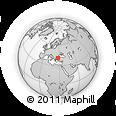 Outline Map of Tekirdag