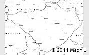 Blank Simple Map of Yozgat