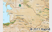 Satellite Map of Turkmenistan