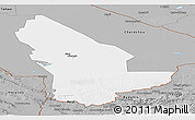 Gray Panoramic Map of Mary