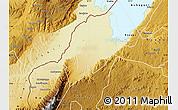 Physical Map of Ntoroko