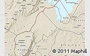Shaded Relief Map of Ntoroko