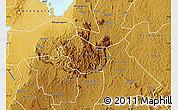 Physical Map of Buhweju