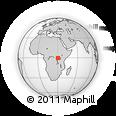 Outline Map of Buhweju