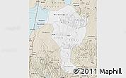 Classic Style Map of Bushenyi