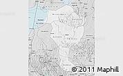 Silver Style Map of Bushenyi