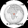Outline Map of Bushenyi