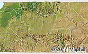 Satellite 3D Map of Sheema