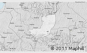 Silver Style 3D Map of Sheema