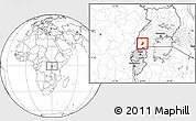 Blank Location Map of Sheema