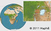 Satellite Location Map of Sheema