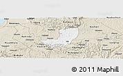 Classic Style Panoramic Map of Sheema