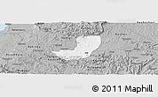 Gray Panoramic Map of Sheema
