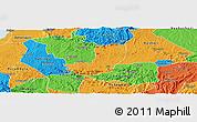 Political Panoramic Map of Sheema