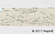 Shaded Relief Panoramic Map of Sheema