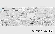Silver Style Panoramic Map of Sheema