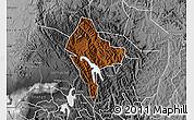 Physical Map of Rubanda, desaturated