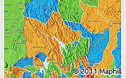 Political Map of Rubanda
