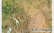 Satellite Map of Rukiga