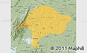 Savanna Style Map of Kabarole