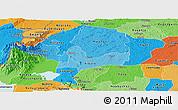 Political Shades Panoramic Map of Kabarole